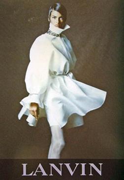 1990AW Lanvin Linda Evangelista2