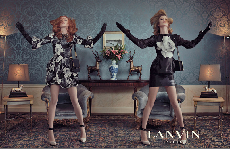 2011 AW Lanvin karen elson and raquel zimmermann1