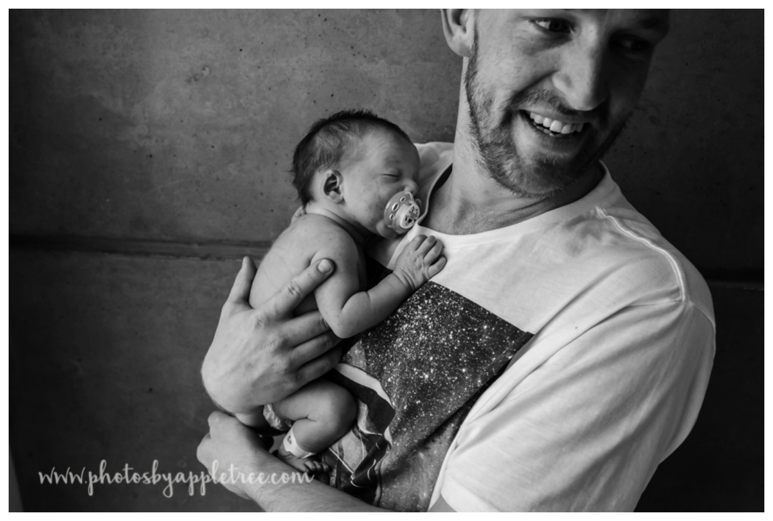 Doting Dad Daniel was a rockstar finding us this beautiful window light and boy could he make sweet Lysa smile during our shoot. (you should see the outtakes)
