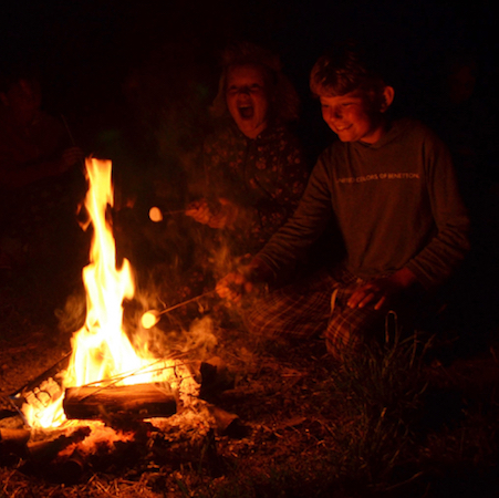 FIRELIGHTING & CAMPFIRE COOKING - we'll make bannock bread on sticks, cook dinner in a dutch oven on the fire and enjoy toasted marshmallow and hot chocolate in the evenings.