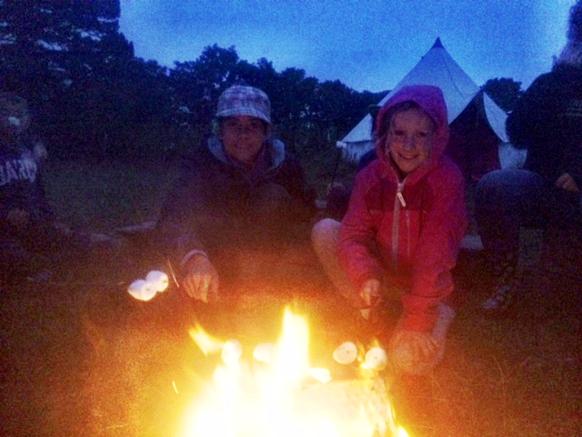 End of another great day at camp with wild food foraging and kayaking to look forward to tomorrow.