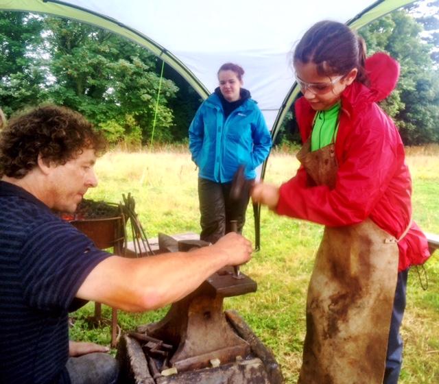 Forging with Tristan the Blacksmith