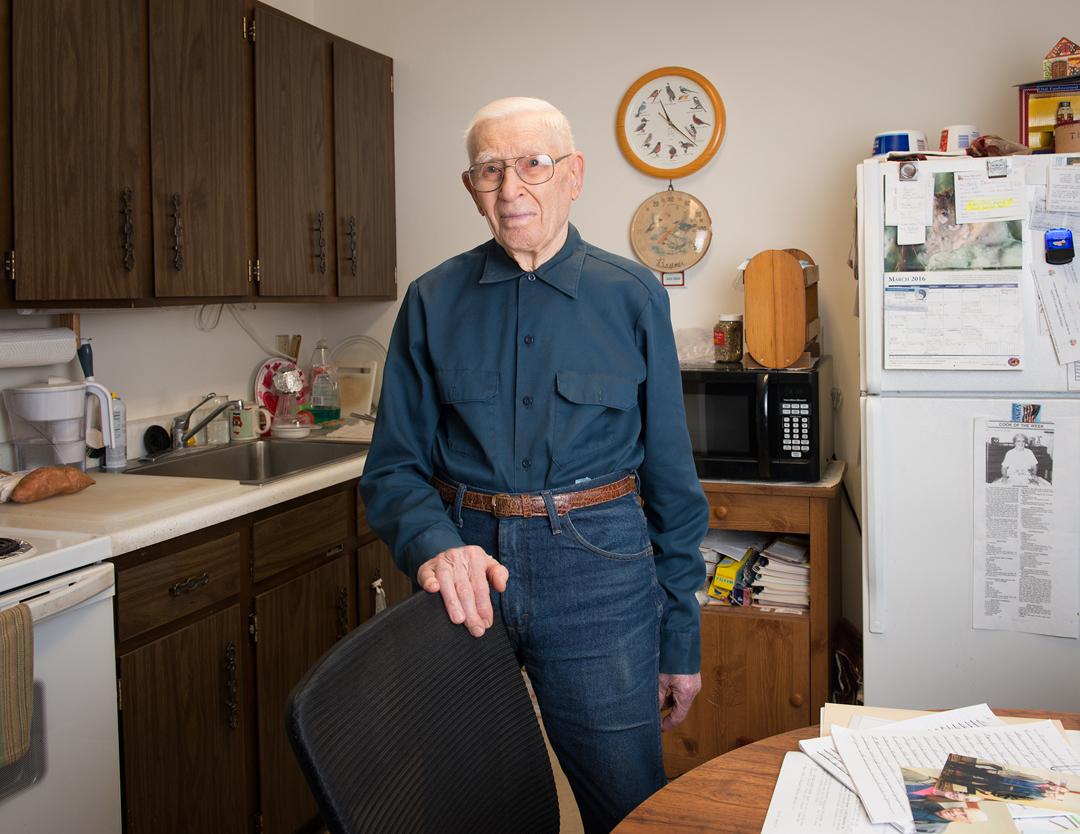 Herb, retired farmer, 2016