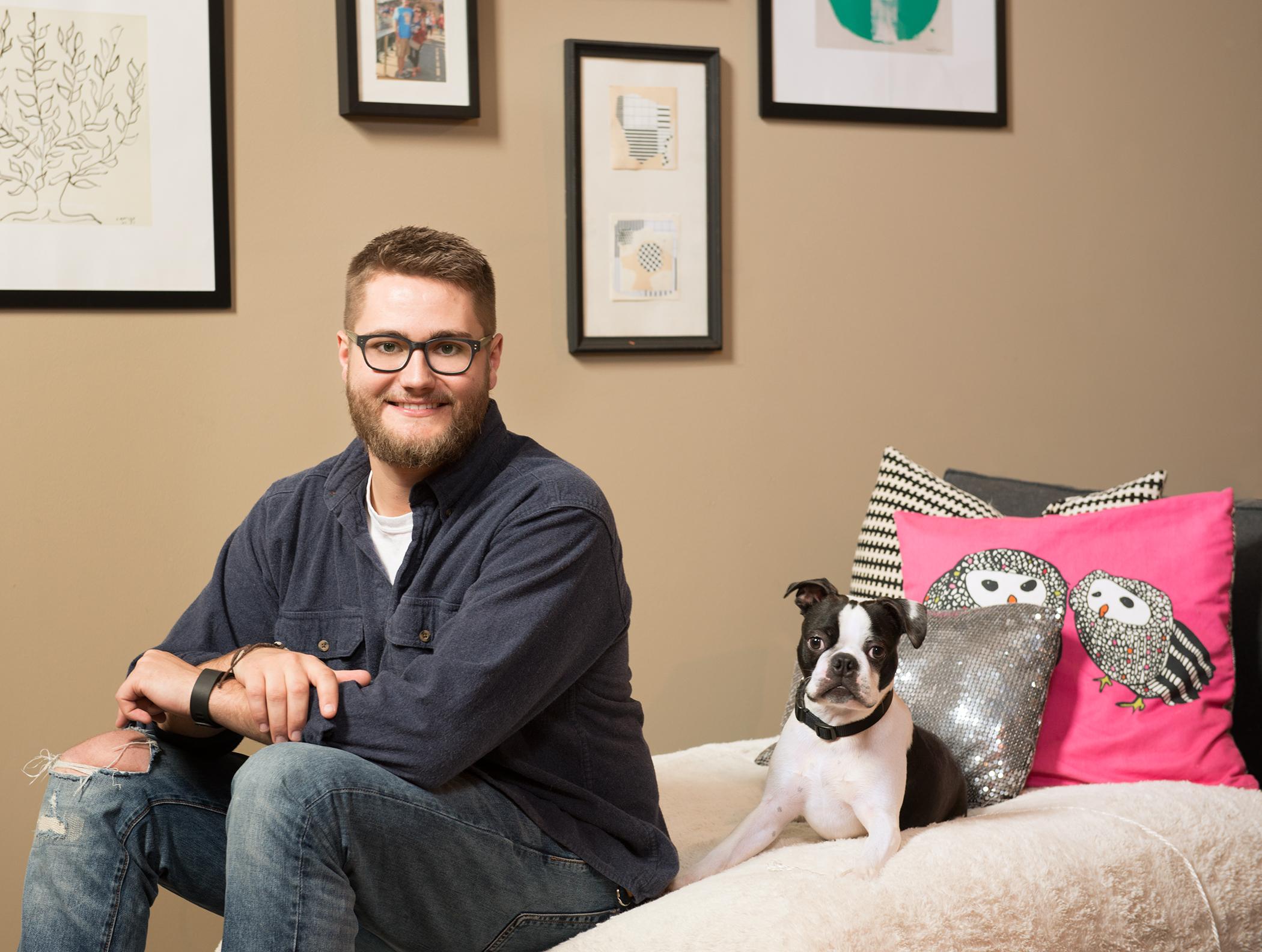 Graphic Designer  Jordan Mahaffey