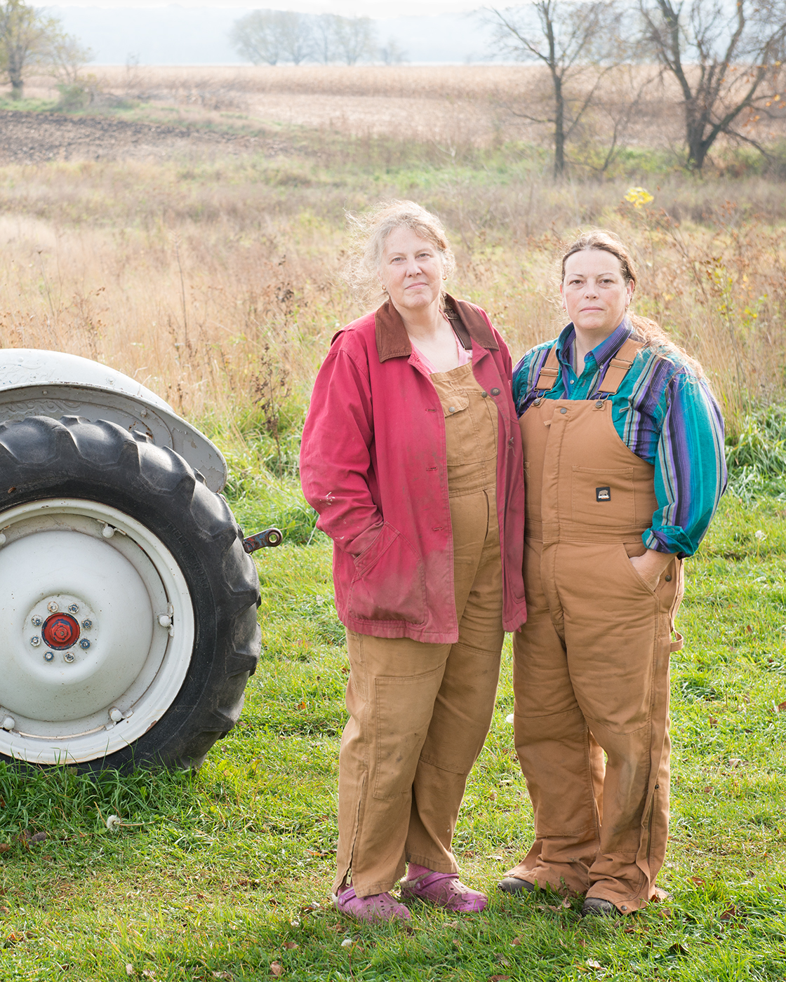 Lynne and Jalynn, scholars in Sustainable Agriculture     Uprooted