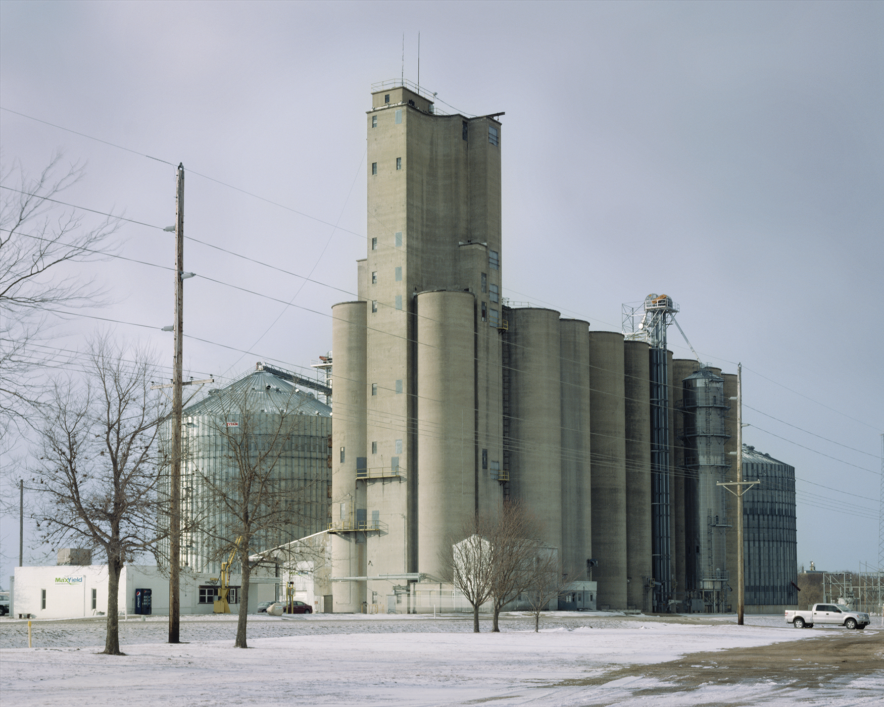 MaxYield grain elevator, 2012