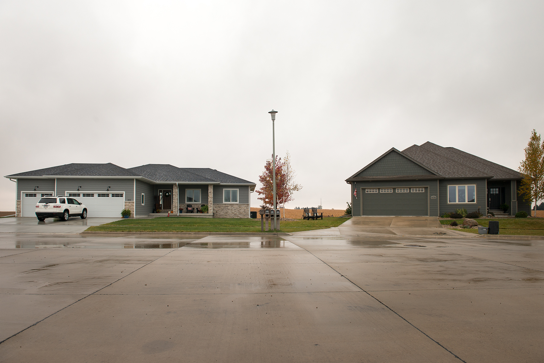 Development near Clear Lake, 2015