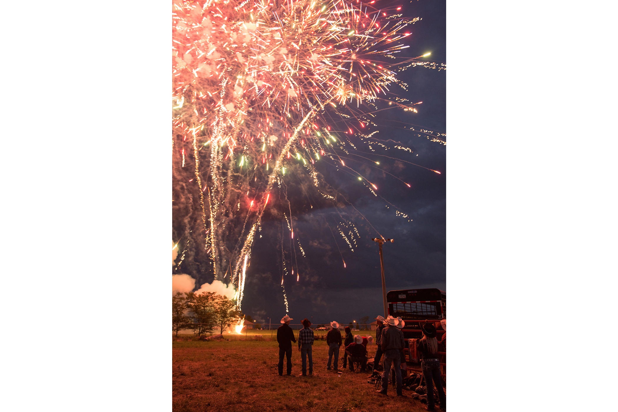 Fireworks at Wright County Fair  © Kristine Heykants 2018