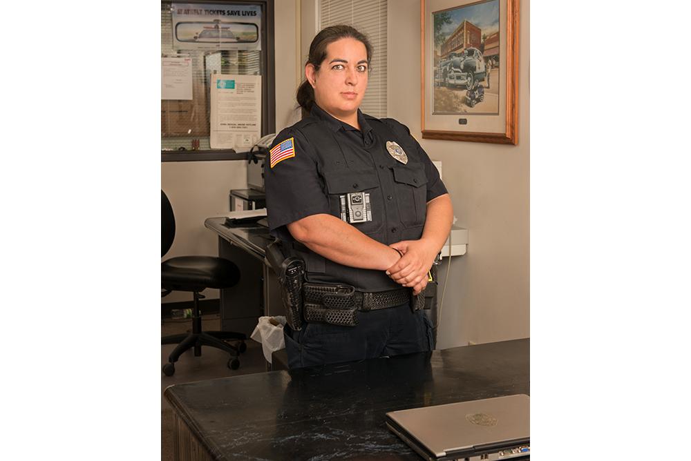 Jessica (Belmond police officer)  © Kristine Heykants 2018
