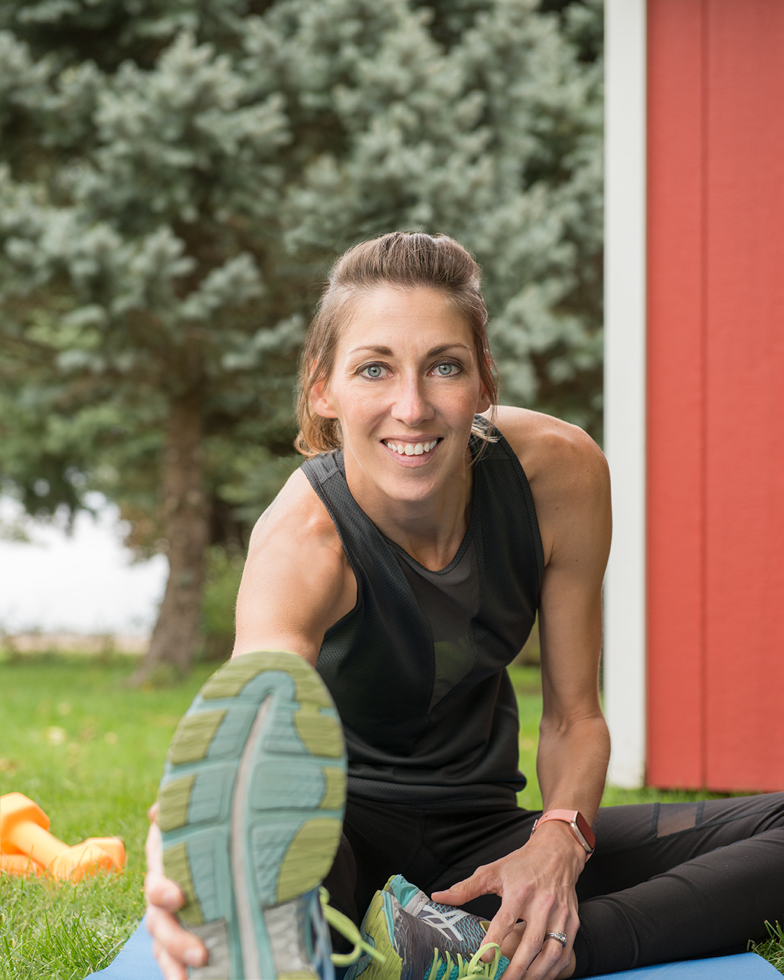 Fitness and wellness coach  Kylie Lamb