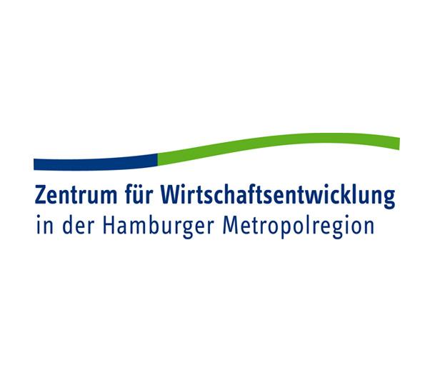 Logo für das Zentrum für Wirtschaftsentwicklung in der Hamburger Metroploregion, ein gemeinsamer Auftritt der Wirtschaftsförderungen Pinneberg, Segeberg und Stormarn