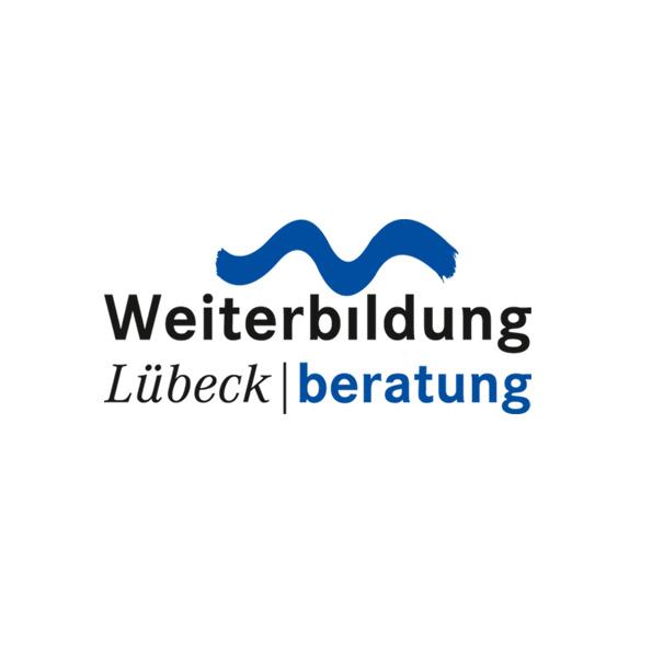 Verbund Weiterbildung in Lübeck, erweitertes Logo