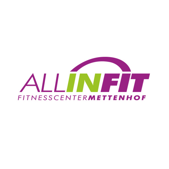 Logo für das All-In-FIT Fitnesscenter Metenhof