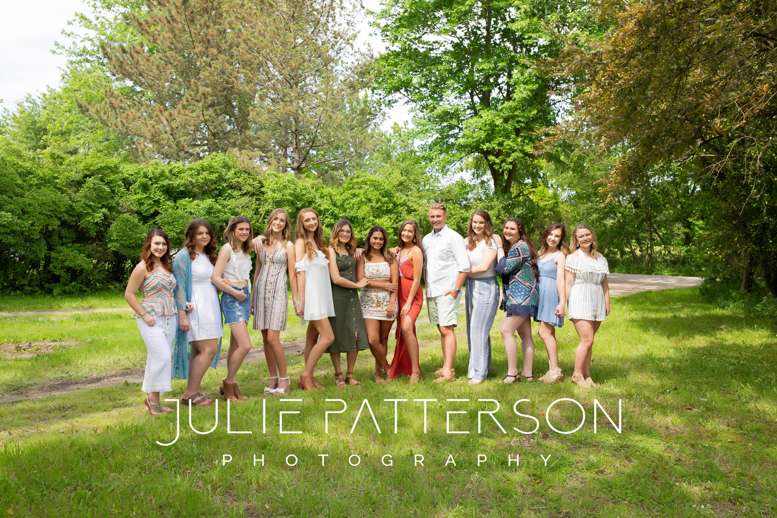 Julie Patterson Photography mod squad tropical boho photoshoot ann arbor michigan Milan plymouth canton plymouth saline top michigan senior photographer
