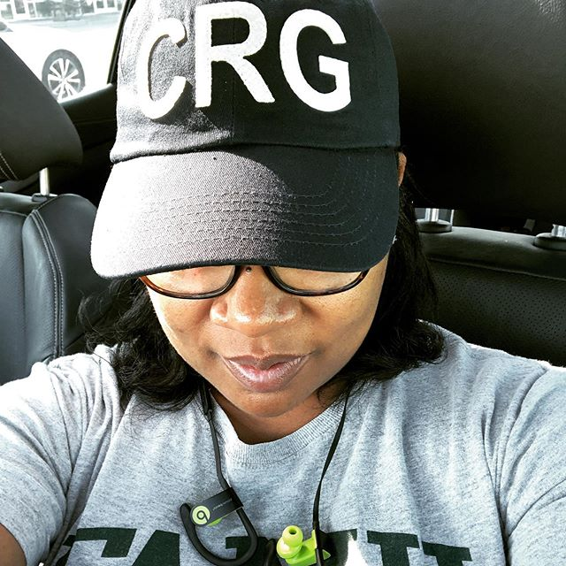I've been wanting an airport code hat since forever. As much as I love my city I just couldn't wear - PNS (say it really fast and you'll laugh). So I had one custom made. CRG. It stands for courage! It's my new favorite thing and I could certainly use this reminder often! #weekenduniform
