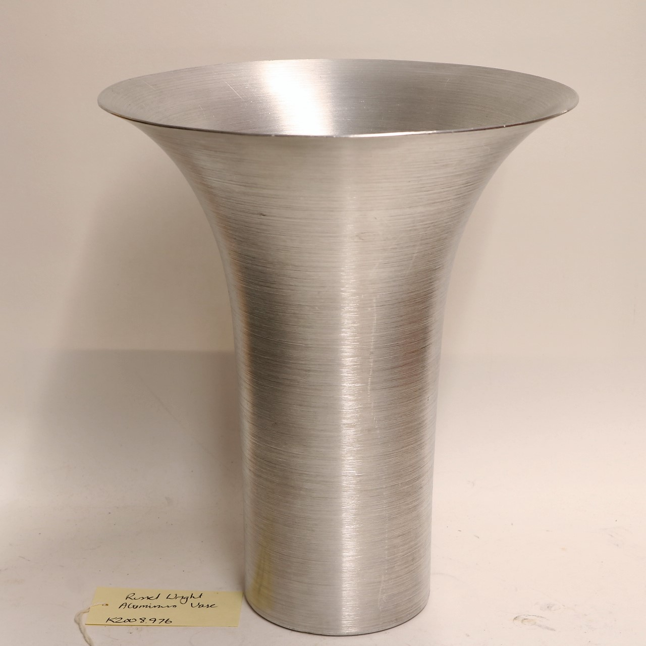 Spun Aluminum Large Vase, 1933