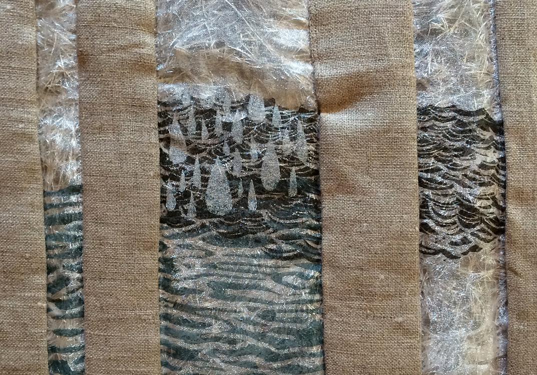 Fabric Sketchbook Detail