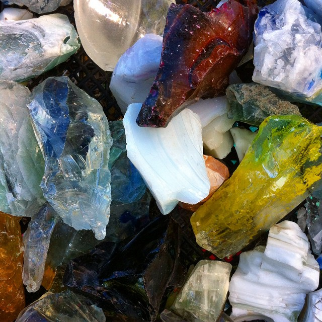 Crystal sights. #crystal #translucence #color #austin #rocks #glass #atx