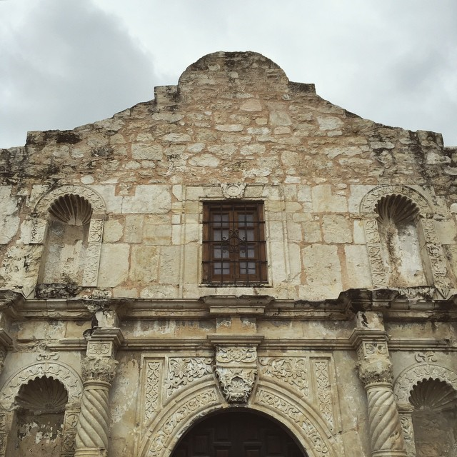 It's a lot smaller than you think #Alamo