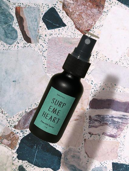 Supreme Heart Emerald Spray  by Fields of Study