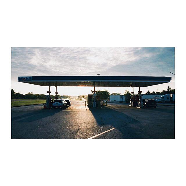 Somewhere between Toronto and New York City #roadtrip #28mm #portra400
