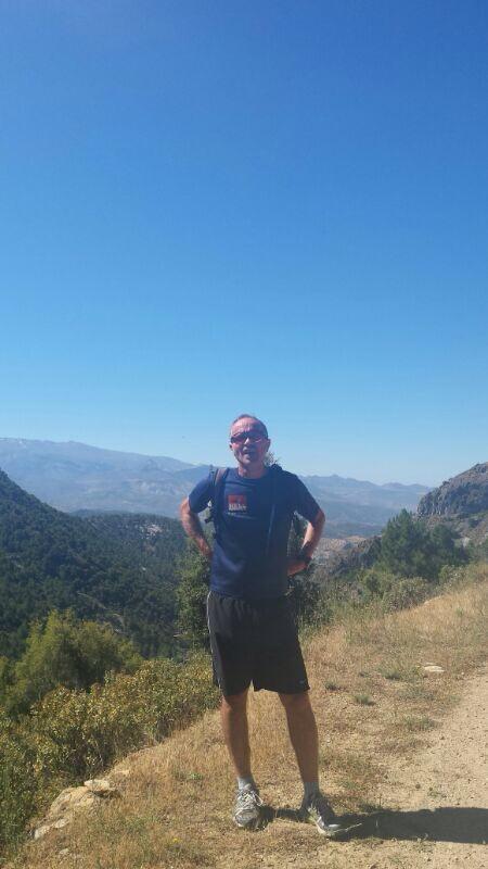 Sierra Huetor 1,500m high