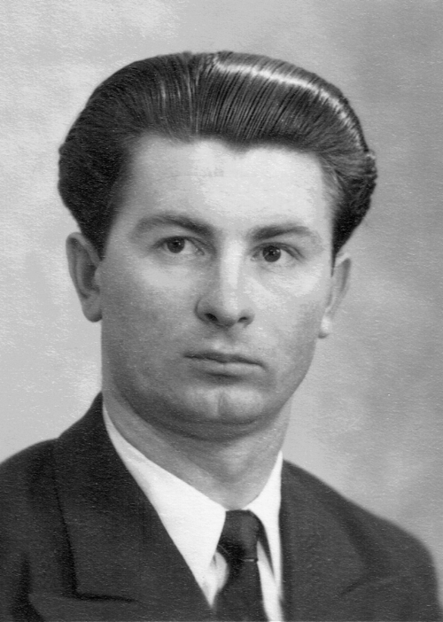Wolodymyr Papuca as a young man