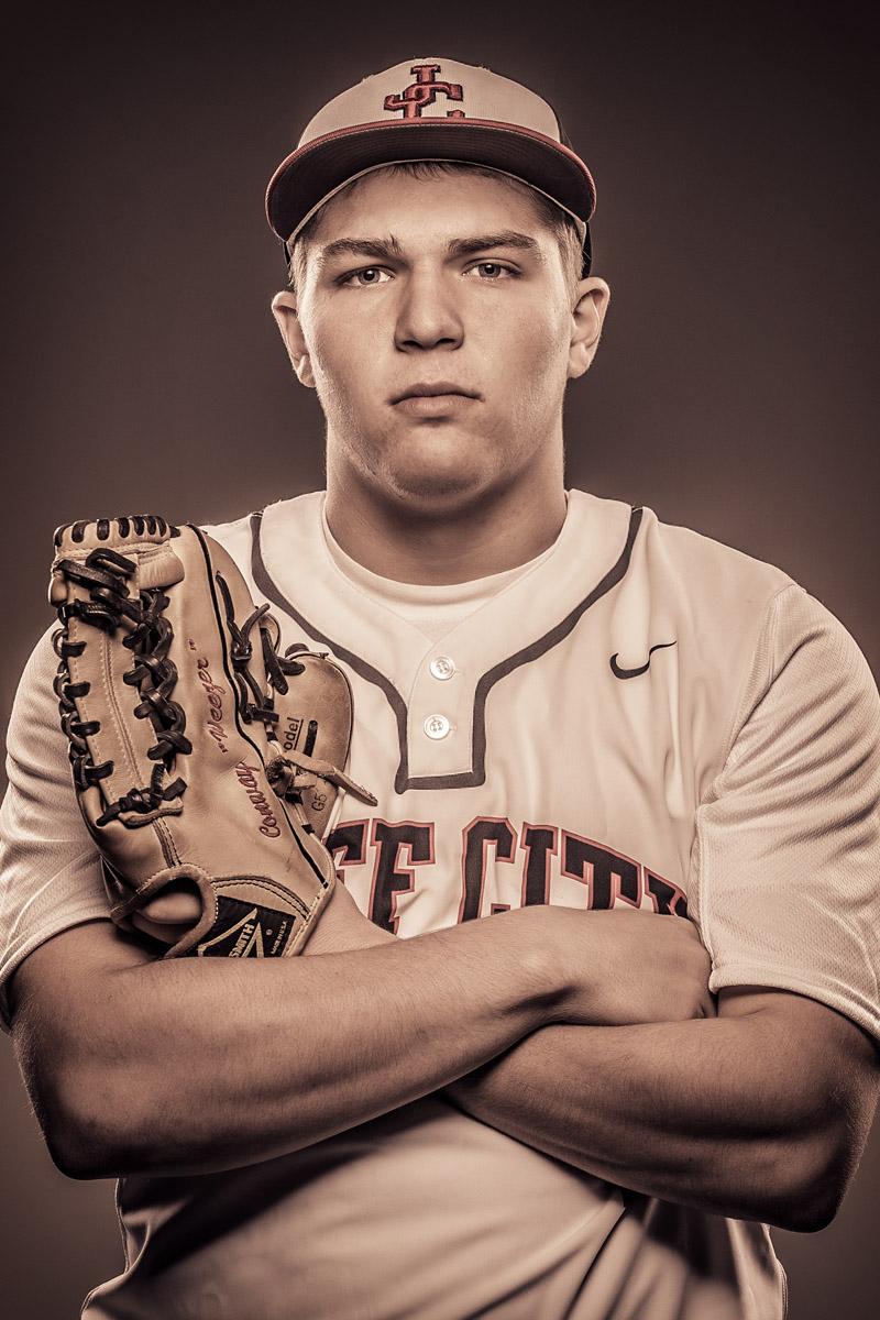 Baseball Player Portrait