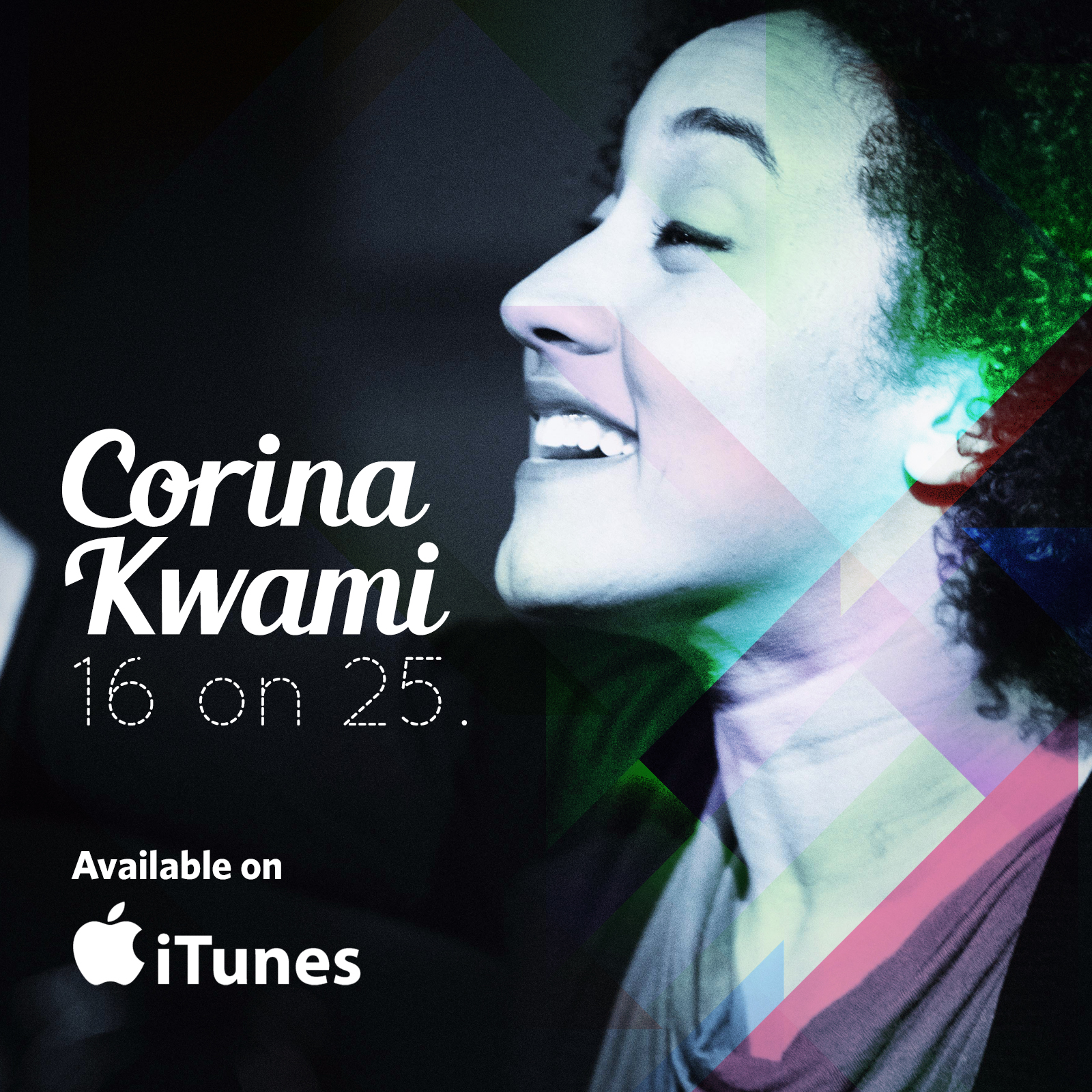 Corina Kwami - 16 On 25 itunes.jpg
