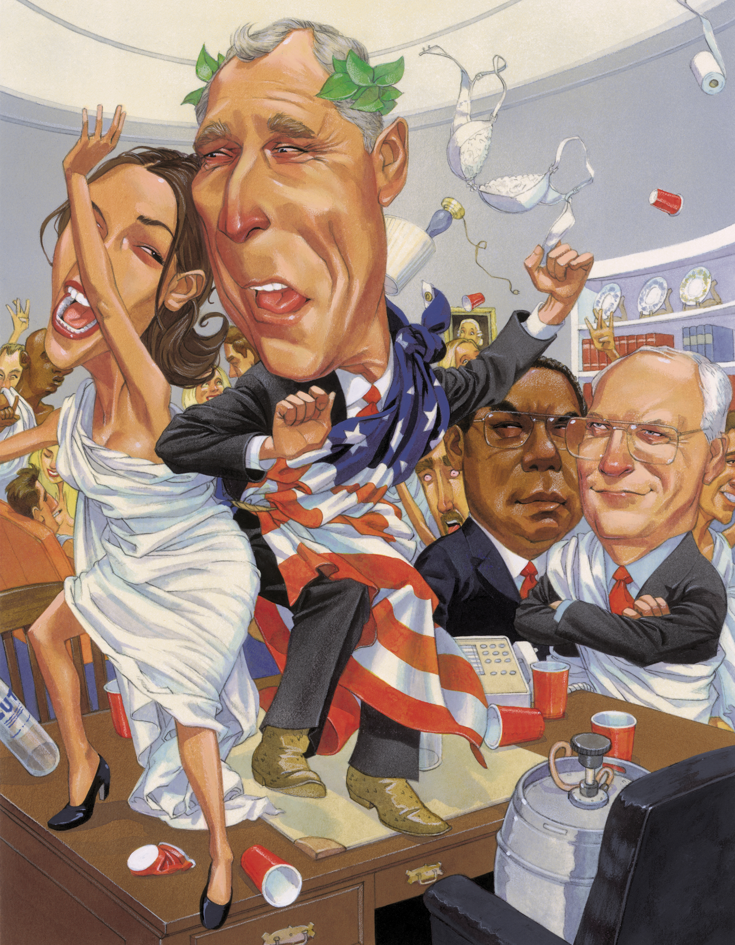 Illustration Portfolio-Oval Office Party.jpg