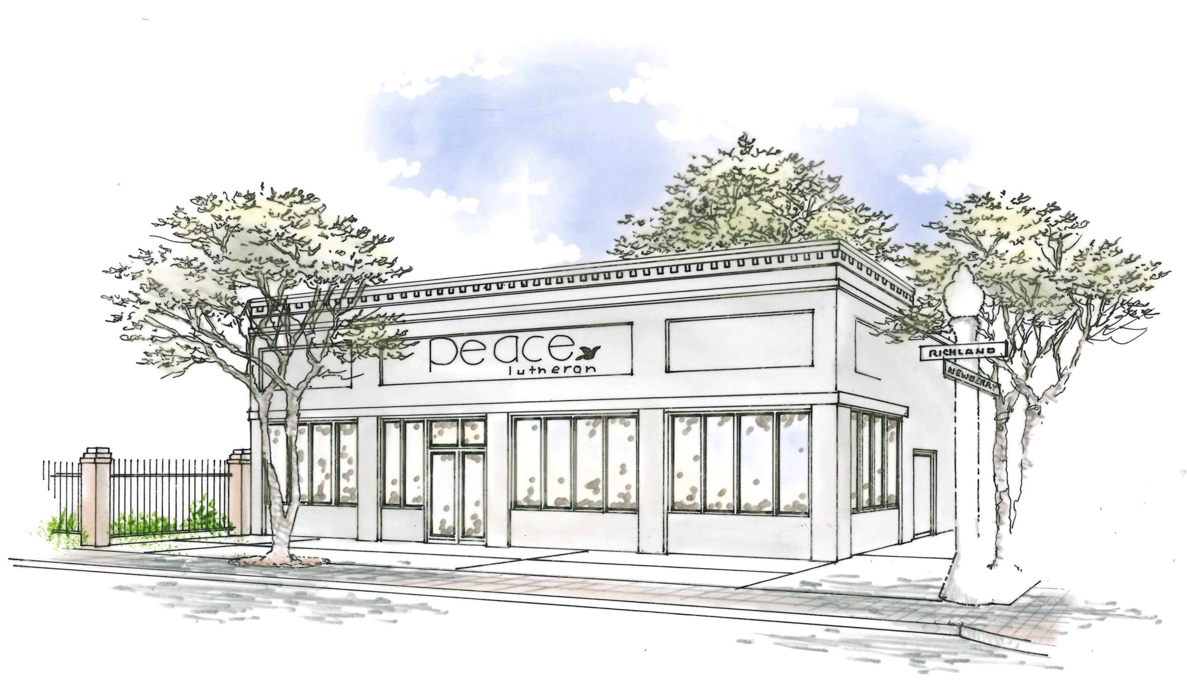 Here's a rendering of where our property is headed!