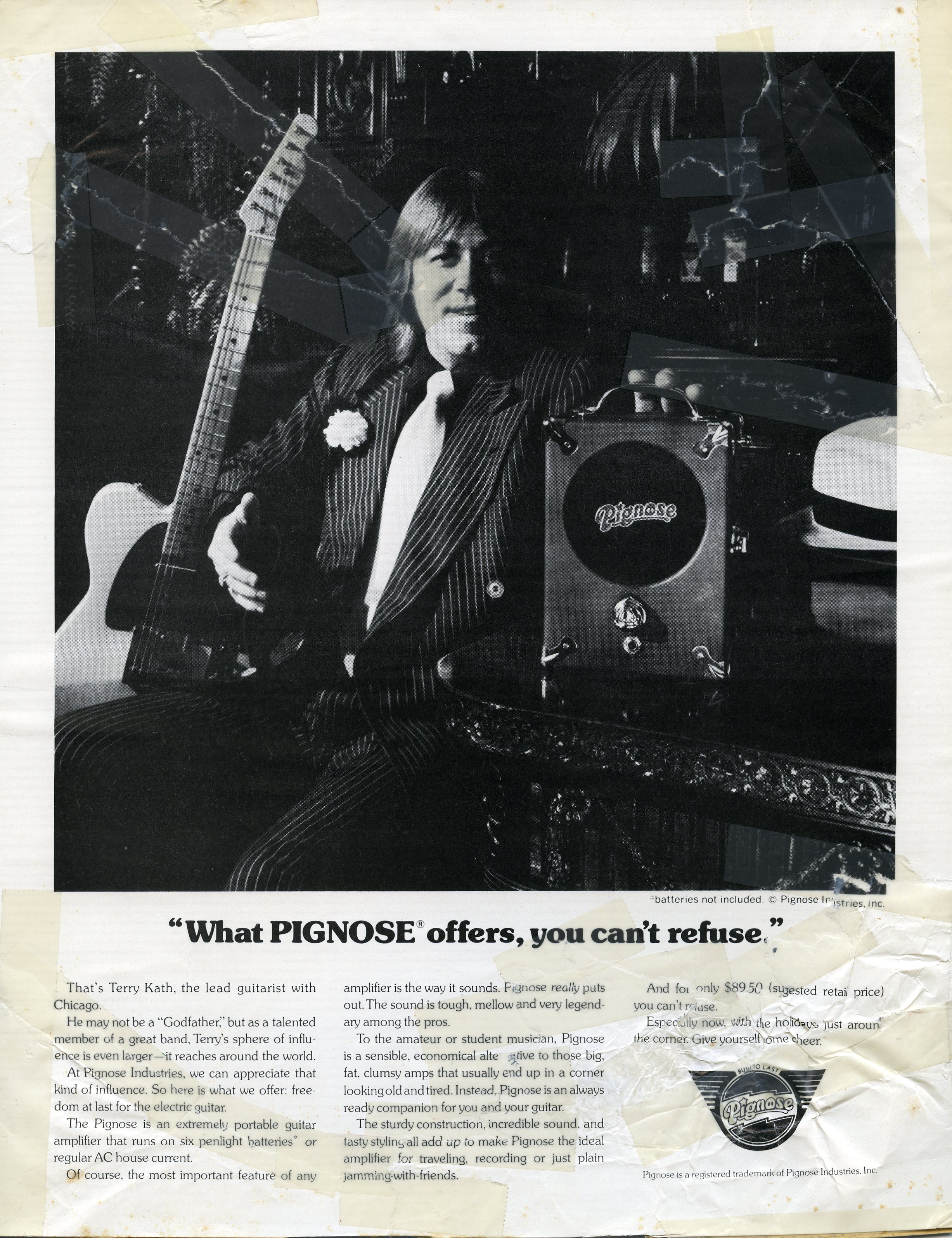 Pignose Press Ad