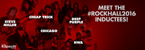 In 2016 Chicago's CTA is inducted to the Rock & Roll Hall of fame