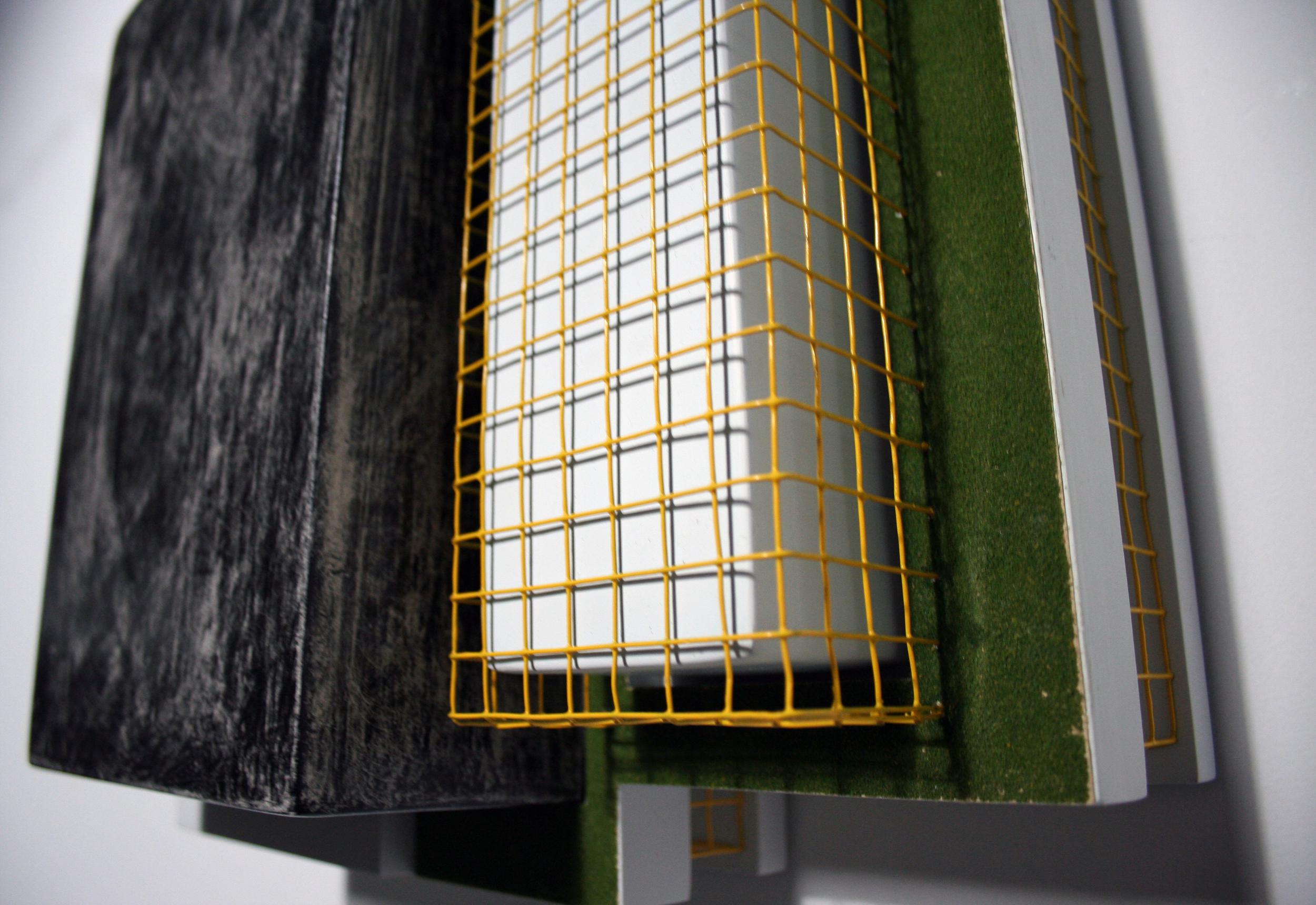 "Industrial landscape Series: ""Zeta"" - Detail"