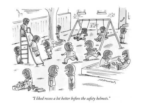A cartoon by Mick Stevens for  The New Yorker , June 2000