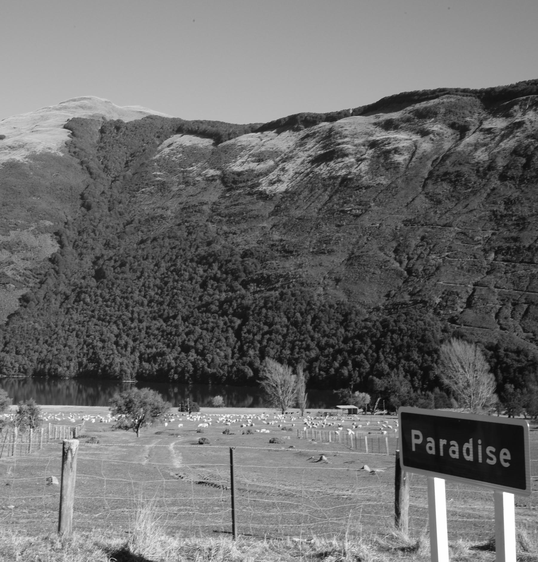 Paradise, New Zealand (near the setting of the same name)