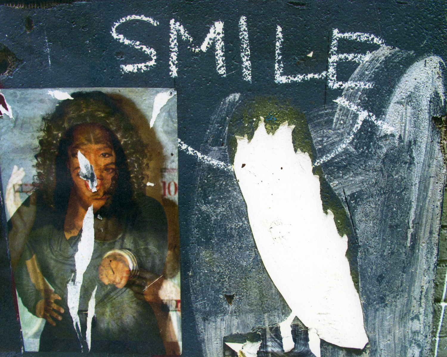 """Smile""  2012  solvent transfer print  variable sizes available"