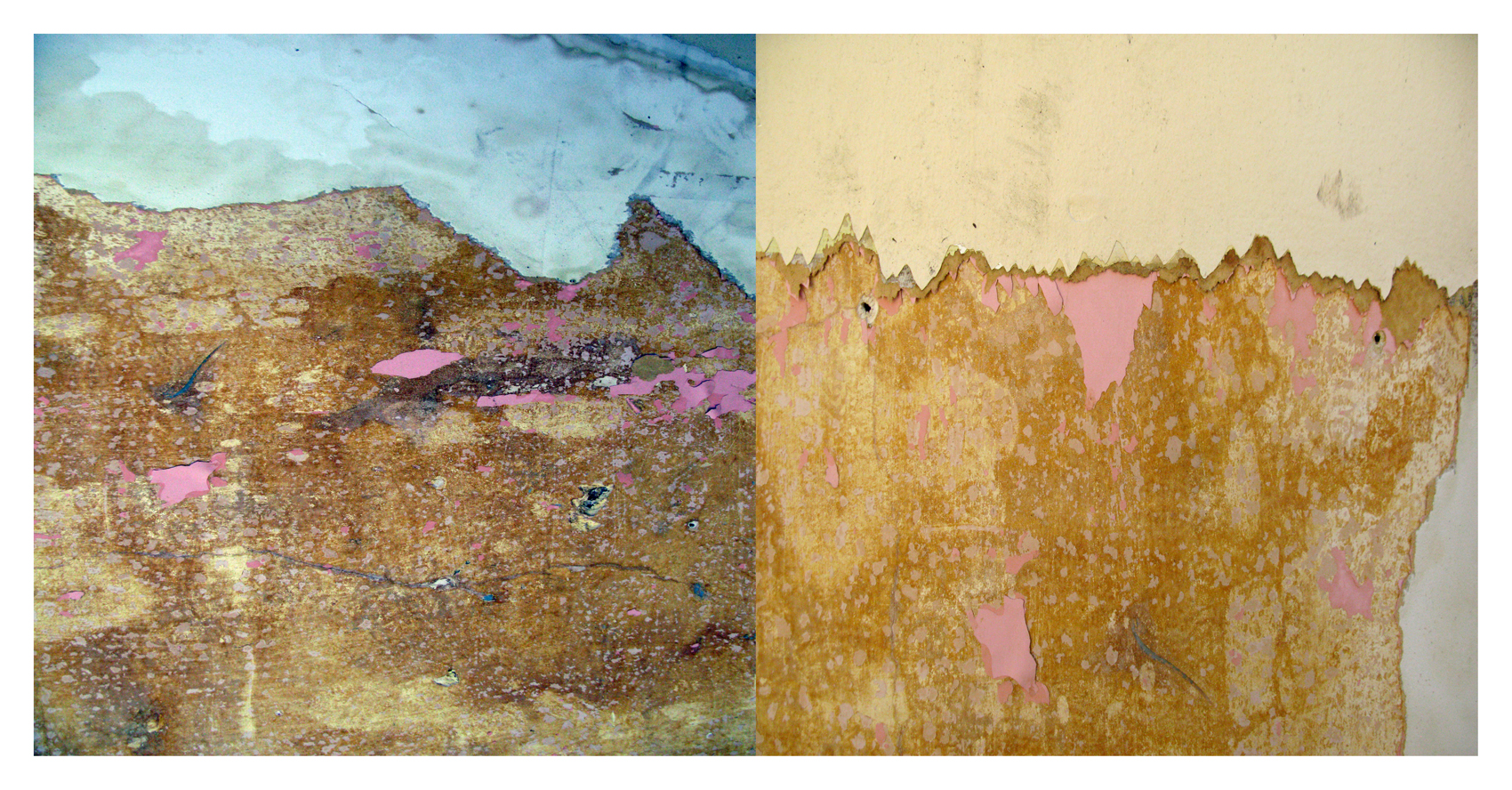 """Torn Landscape"" 2014  18"" x 36"" digital print  variablesizes available"
