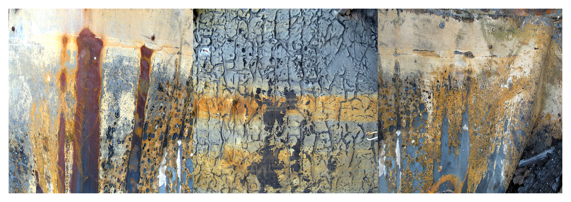 """""""Fire And Rust"""" 2014  18"""" x 54"""" digital print  variablesizes available"""