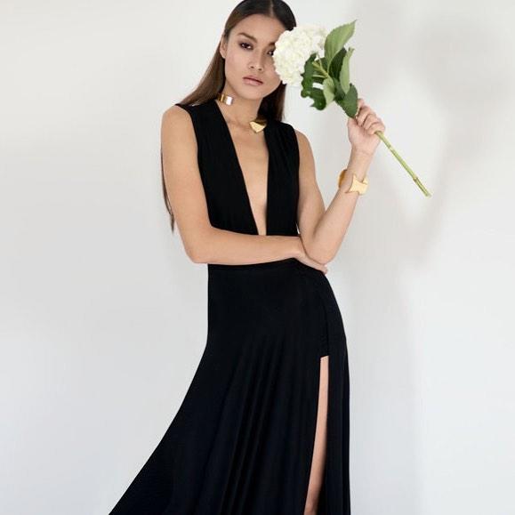 Feeling #friday. #phoenix #collection #biodegradable #black #bamboo #nature #future #fashion #nyc #brooklyn #dress