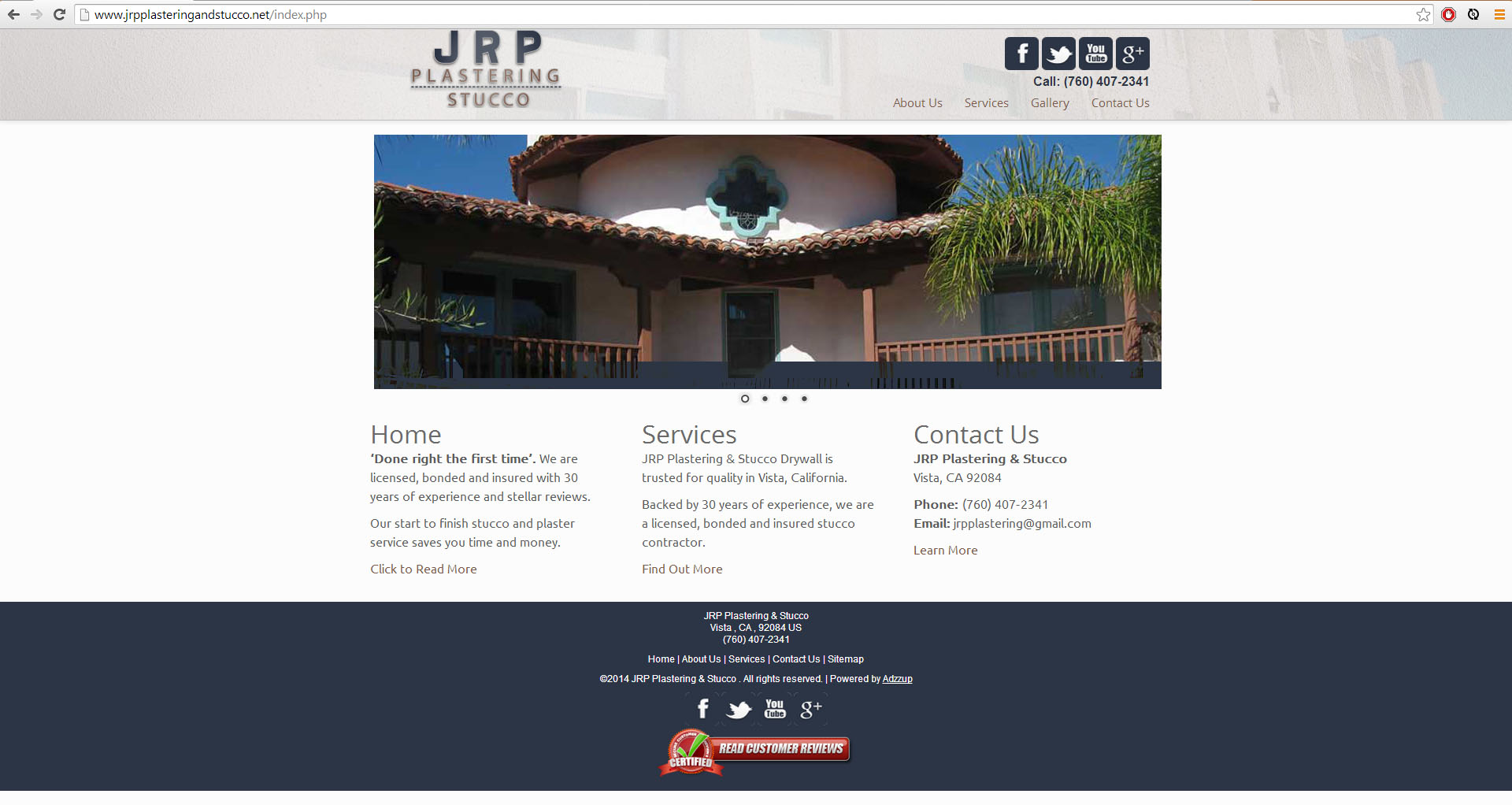 "<a href=""http://www.jrpplasteringandstucco.net/"">JRP Plaster and Stucco</a>"