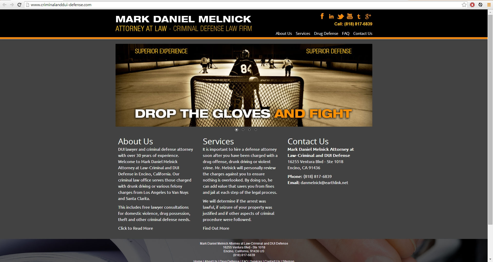 Mark Daniel Melnick Law