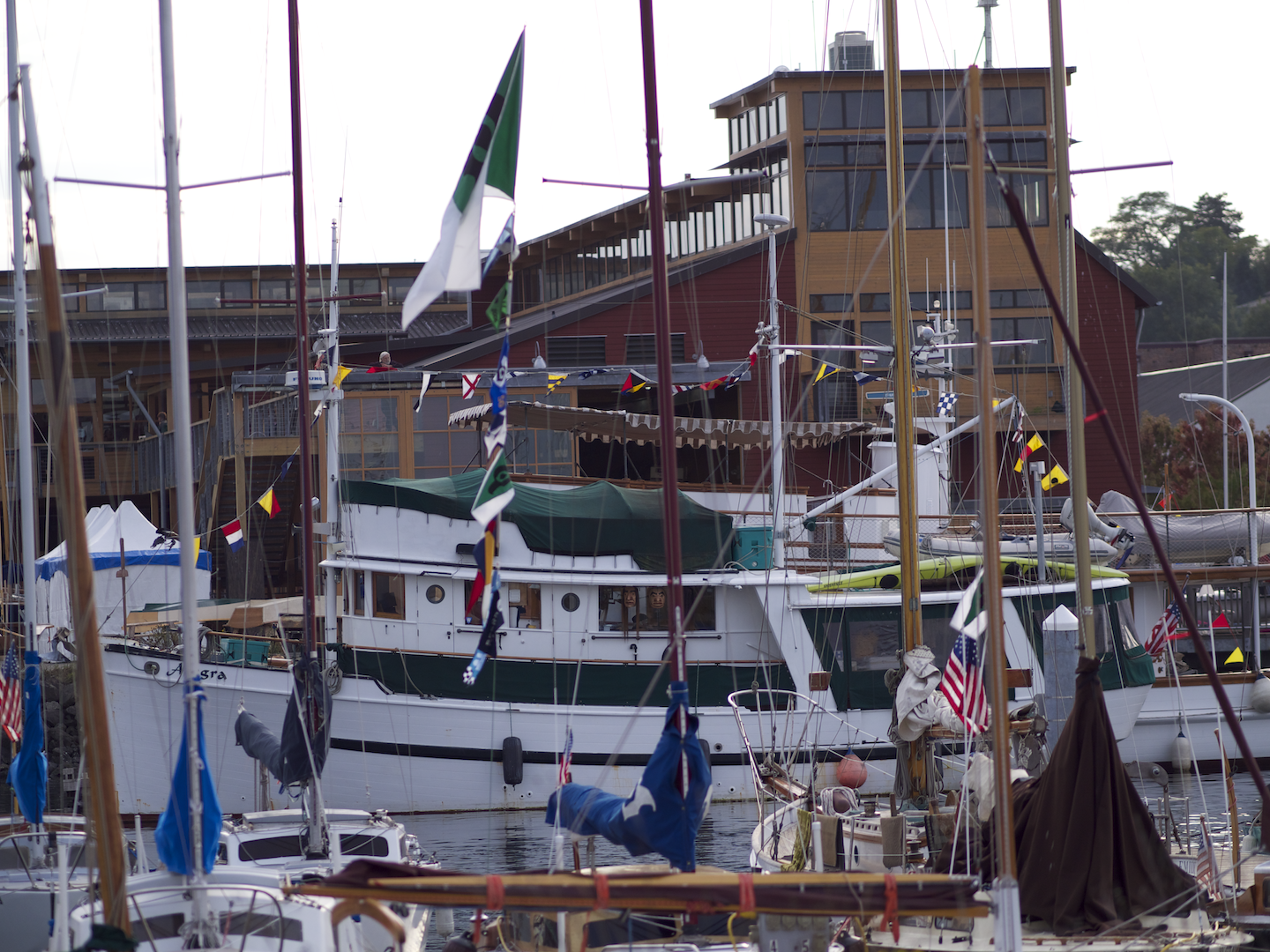 Wooden Boat Festival at the NW Maritime Center