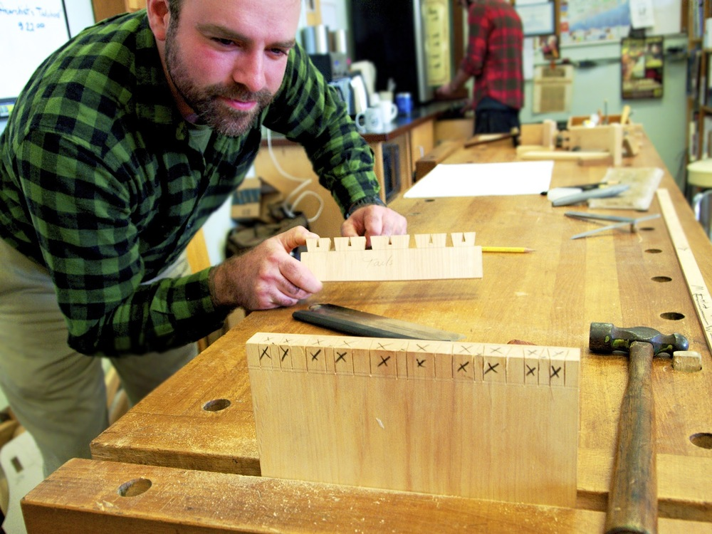 Profiles In Woodworking Matthew Straughn Morse Port