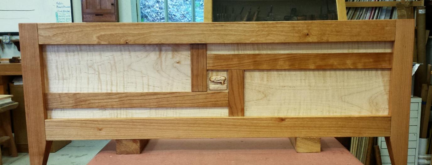 Lee Lampe's frame and panel chest