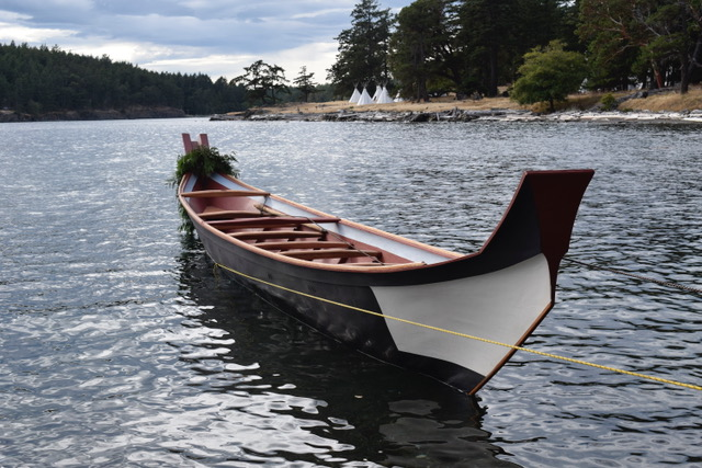 Canoe built by Steve Brown