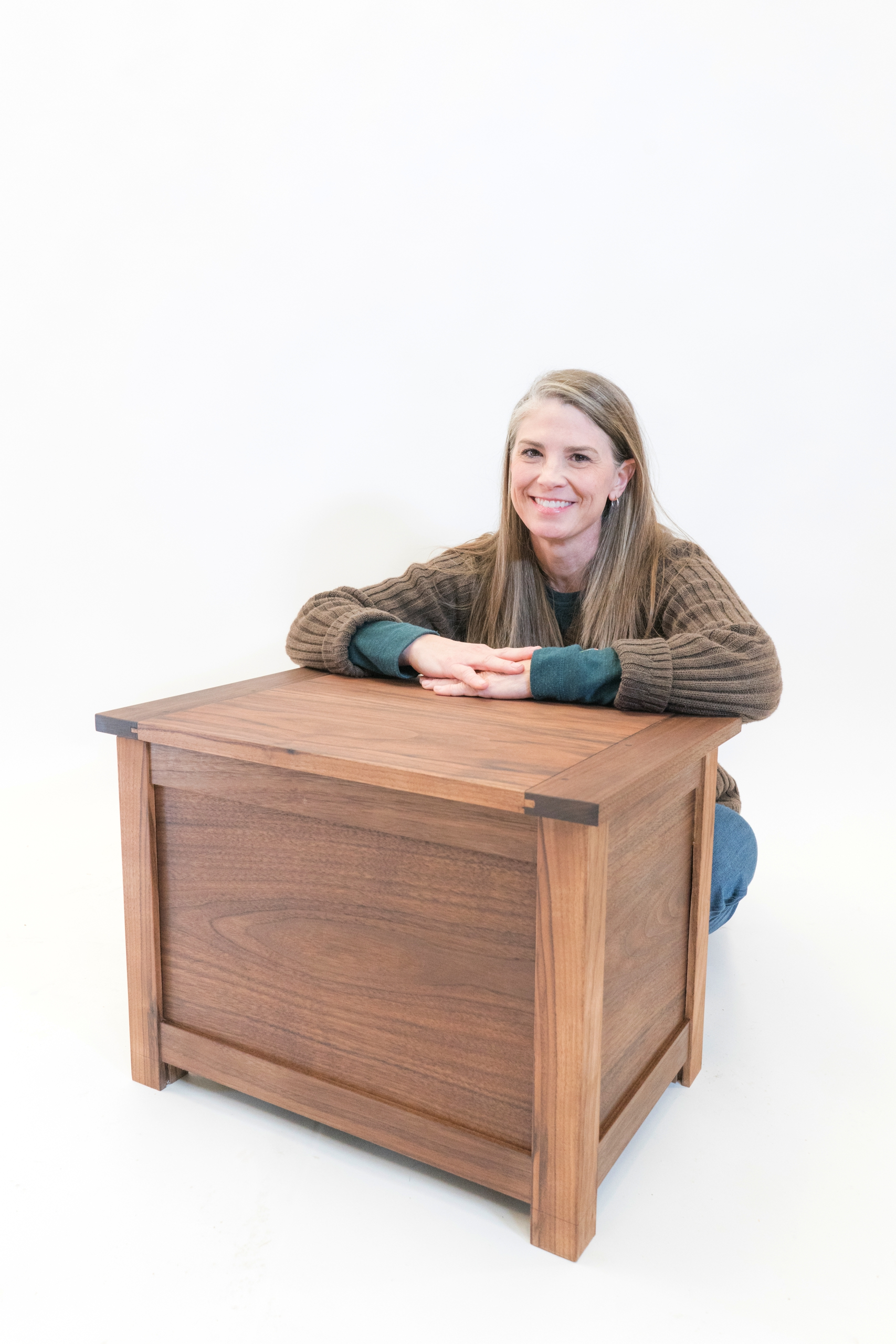 Dawn LeRoy, Graduate of Foundations of Woodworking, fall 2018
