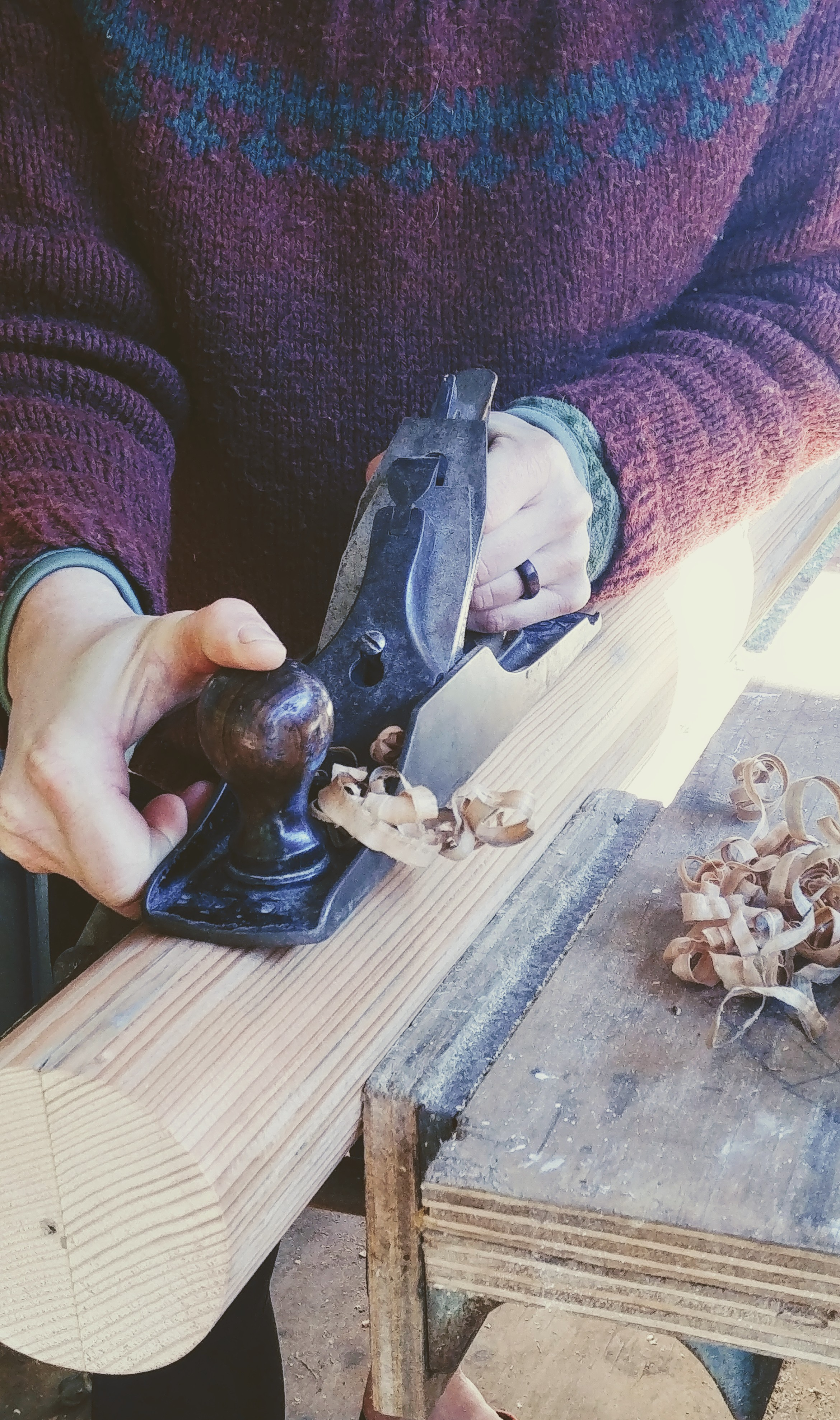Making Wood Round