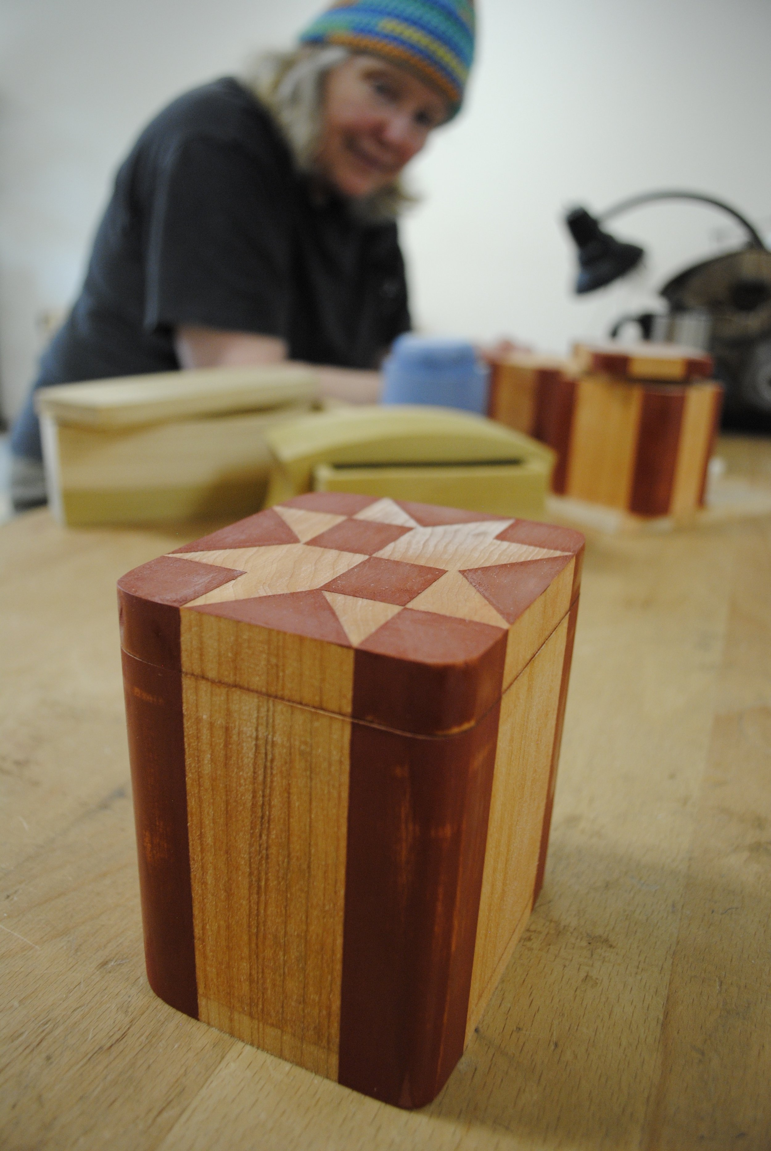 Sculptural Boxes with Kevin Reiswig