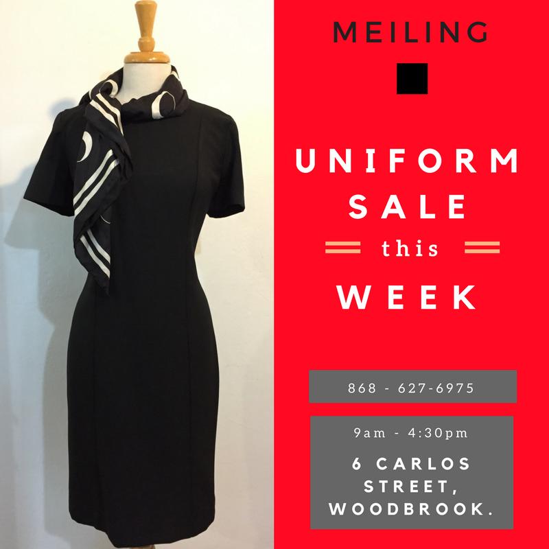 Uniform Sale May 2017